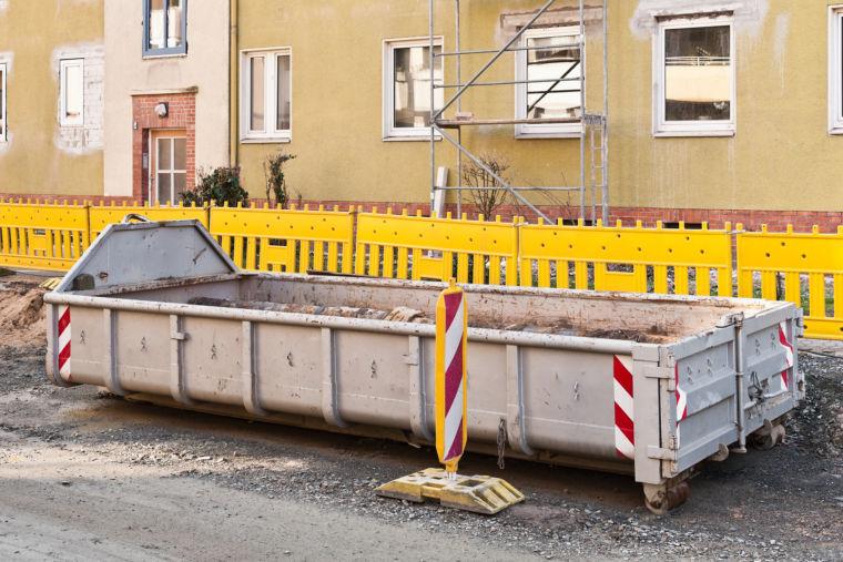 Abrollcontainer für Gewerbebetriebe Ernst Pindel