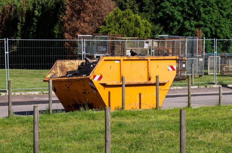 Absetzcontainer für Gewerbebetriebe Ernst Pindel